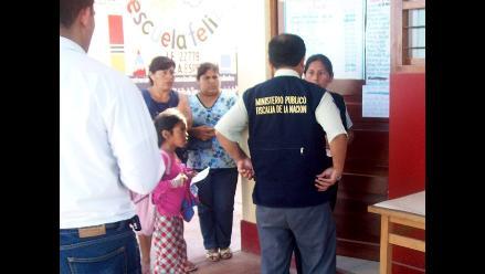 Fiscalía investiga posible maltrato a escolares en Pisco