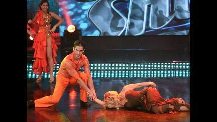 Gisela Valcárcel se dejó arrastrar por Jesús Neyra en Reyes del Show