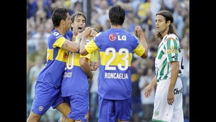 Boca Juniors goleó 3-0 a Banfield y conquistó el Apertura argentino