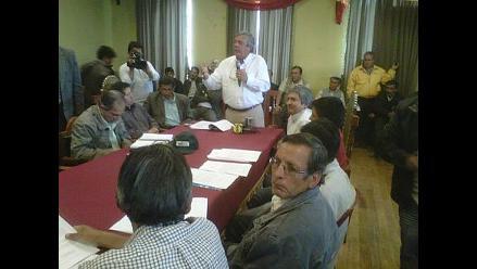 Andahuaylas: Inician diálogo para formar Consejo de Recursos Hídricos