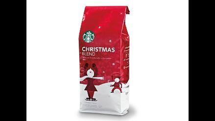 Starbucks ofrece un café único en esta Navidad