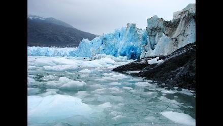Glaciar chileno retrocede un kilómetro por año