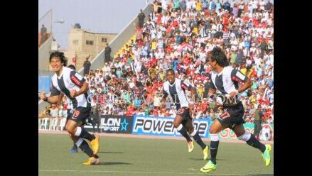 Alianza Lima vence a Juan Aurich al término del primer tiempo