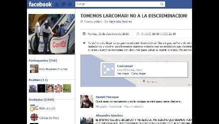 Organizan protestas contra la discriminación en Facebook