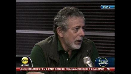 Gorriti: Artemio está derrotado desde el punto de vista estratégico
