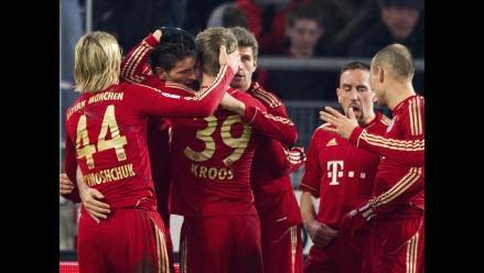 Bayern Munich derrota al Stuttgart con dos goles de Mario Gómez