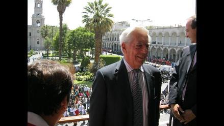 Mario Vargas Llosa cumplirá recargada agenda en Arequipa