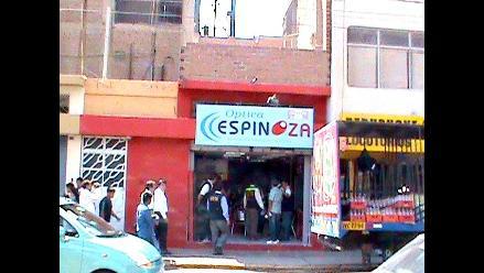 PNP decomisa más de 1 200 lentes de sol de contrabando en Chiclayo