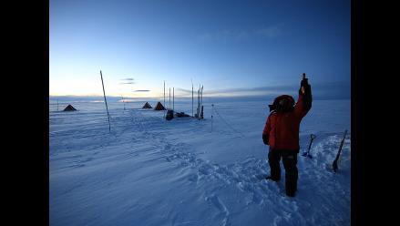 Científicos viajan al Polo Sur por un testigo de últimos 500 años