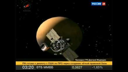 Sonda espacial rusa Phobos-Grunt caerá a la Tierra en enero