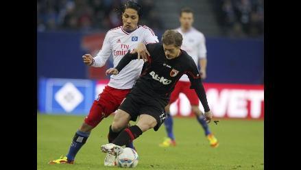 Prensa alemana resalta gol de Paolo Guerrero ante Augsburg
