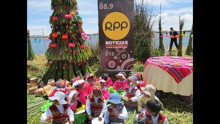 RPP Noticias celebró la Navidad de Amalia Suaña en Puno