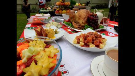 La cena navideña para personas con diabetes