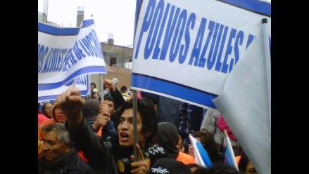 La intervención en Polvos Azules captada desde el lente ciudadano