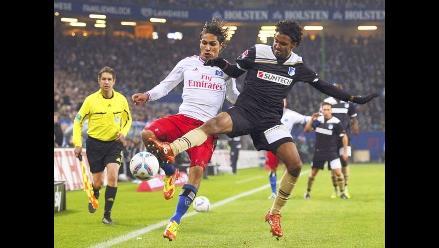 Paolo Guerrero: Me siento feliz por mi éxito en Hamburgo