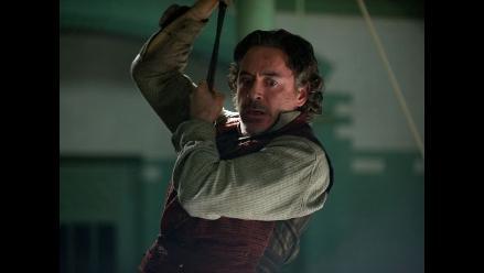 Sherlock Holmes 2 recauda 22 millones dólares menos que la primera parte