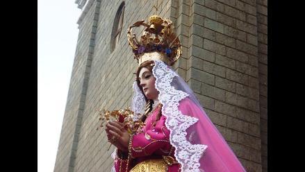 Recaudan 35 mil soles y 237 dólares de ofrendas por Virgen de la Puerta