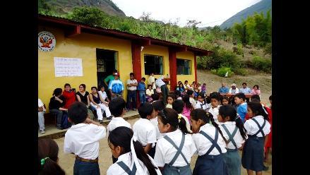 Lambayeque: Colegios rurales terminarán clases el viernes 23 por lluvias