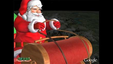 Sigue la travesía de Papá Noel desde el Google Maps y Google Earth