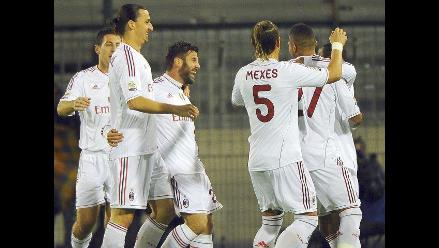Milán superó al Cagliari y alcanza provisionalmente la punta en Italia