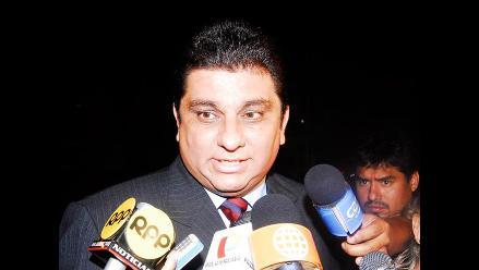 Poder Judicial leerá sentencia a excongresista Carlos Raffo