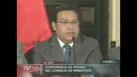 Ministro de Defensa garantizó aumento de salarios y pensiones a FFAA