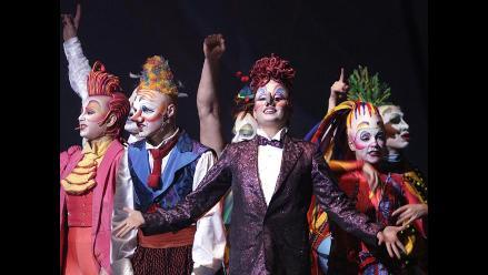 Circo del Sol lleva su magia y acrobacias por primera vez a Letonia