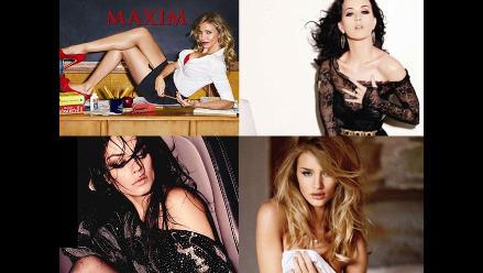 Conozca a las mujeres más sexys del 2011