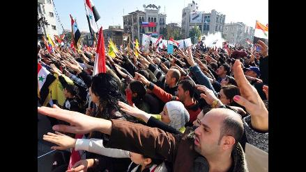 Primer grupo de observadores de la Liga Árabe llegó a Siria