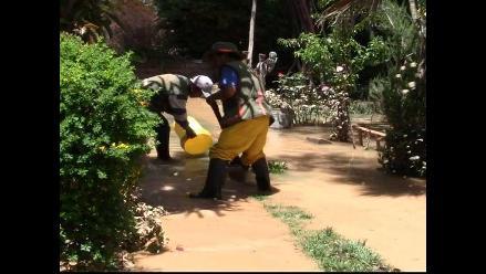 Fuertes lluvias inundan casas en Tarma