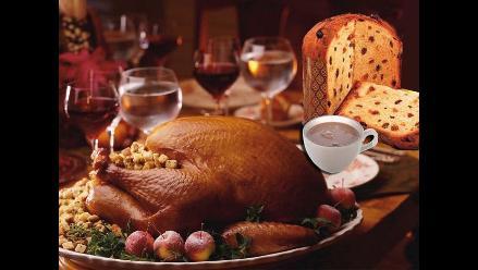 La alimentación previa a la Navidad