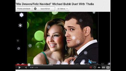 YouTube se une al ambiente navideño lanzando su propio ´Let It Snow´