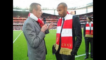 Arsene Wenger ilusionado con regreso de Thierry Henry al Arsenal