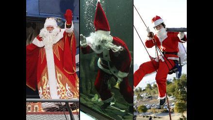 Papá Noel y sus mil caras alrededor del mundo