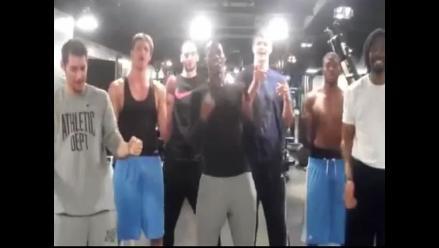 ´Ai se eu te pego´, la canción de Neymar y CR7, también llegó a la NBA