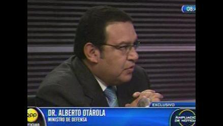 Ministro de Defensa: Que el canciller maneje las relaciones con Chile