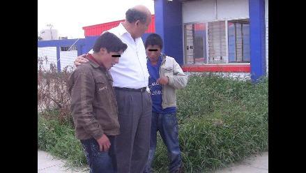 Trujillo: Menores escapan de su casa en Cajamarca para buscar a tío