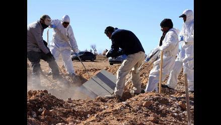 Entierran 36 cuerpos de personas no identificadas en Ciudad Juárez