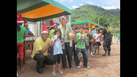 Niños y mujeres de Chanchamayo disfrutaron de una inolvidable Navidad