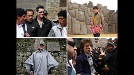 Machu Picchu sorprendió a famosos de Hollywood y a un rock star en 2011
