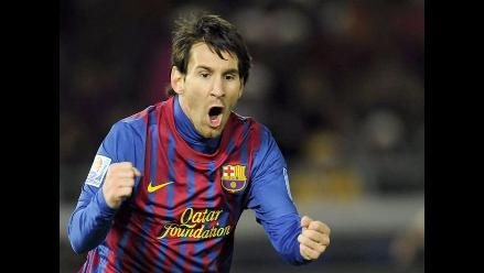 Lionel Messi supera a Cristiano y a Neymar en ranking del goleador 2011