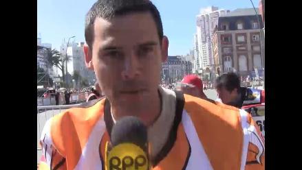 Peruano Eduardo del Valle emocionado por competir en el Rally Dakar