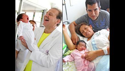 Conozca a los primeros bebés nacidos el 2012