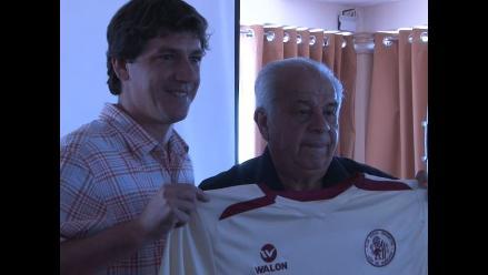 Aníbal Ruiz y Jean Ferrari son presentados en León de Huánuco