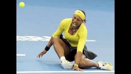 Serena Williams se torció el tobillo y queda fuera de Brisbane