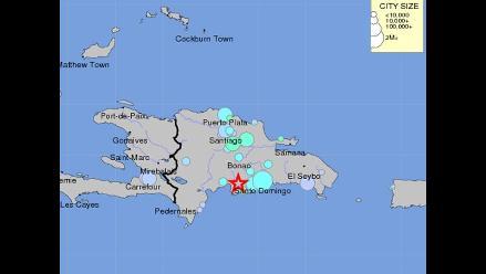 Fuerte sismo sacude República Dominicana