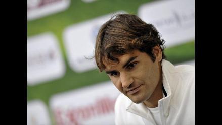 Roger Federer se retira del Torneo de Doha por lesión en la espalda