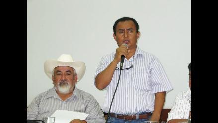 Presidente regional de Cajamarca promueve mesa de diálogo sobre Conga
