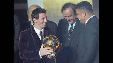 Lionel Messi conquista por tercera vez consecutiva el Balón de Oro