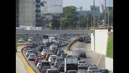 Accidente en vía del Metropolitano causa congestionamiento